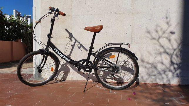 Bicicleta dobrável Marca MOMA