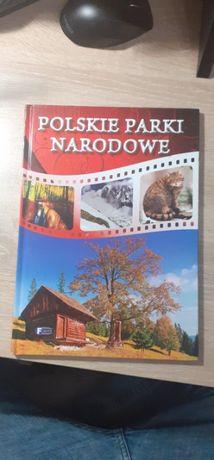 """Książka """"Polskie parki narodowe"""" stan: nowy, nieczytana"""