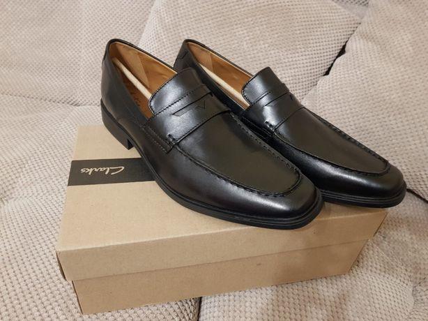 Мужские туфли Clarks men's tilden way leather penny loafers