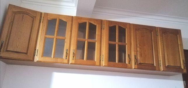 2 módulos em madeira pata cozinha