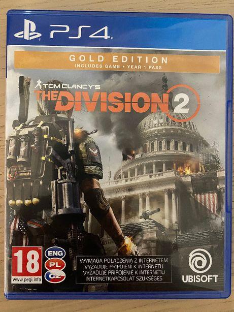 Gra Division 2 na PS4 Gold Edition
