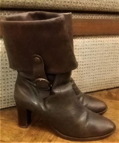Кожаные ботинки Tamaris 2 в 1 (ботинки/сапоги) 38 размер