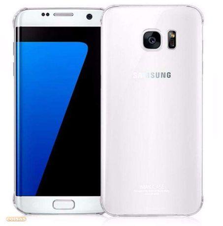 Z269 Capa Silicone Transparente Samsung Galaxy S7 Edge