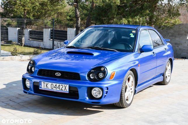 Subaru Impreza WRX, Bezwypadkowy, Serwis ASO, Oryginalny przebieg
