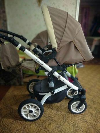 детская коляска 2 в 1MIKRUS PLAUDI