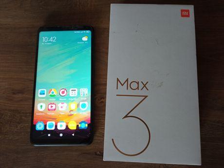 Телефон Xiaomi mi max 3 4/64