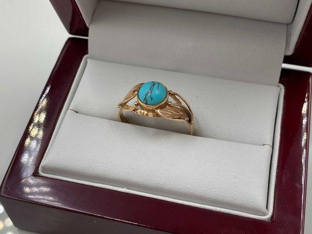 Stary złoty pierścionek 2,45 g lombard Łódź Cieszkowskiego 7