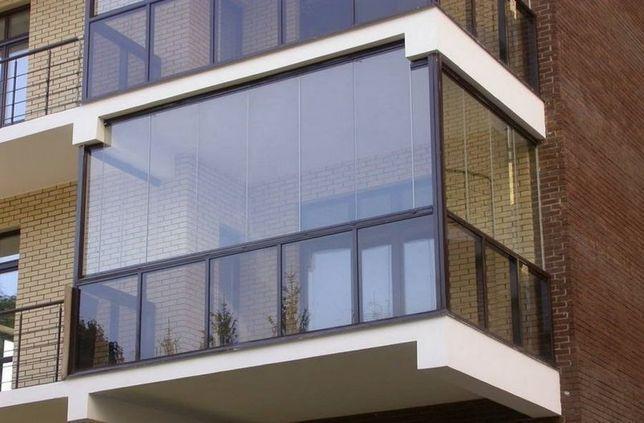 "Балкон ""под ключ"", металлопластиковая рама балконная"