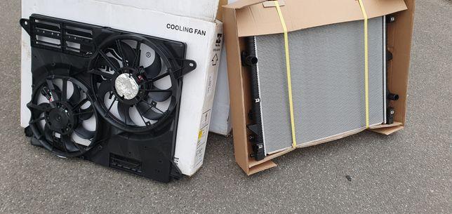 Вентилятор радиаторов радиатор телевизор на Форд Едж Линкольн MKX USA