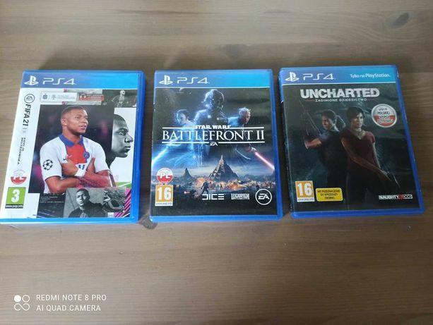 Sprzedam gry na PS4
