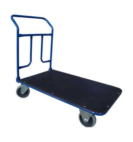 Wózek platformowy ręczny magazynowy - 80×50 cm 200kg - polski