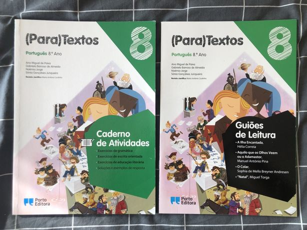 Caderno livro de actividades portuguê 8.º ano