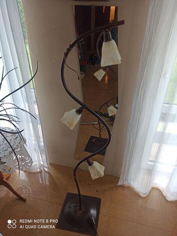 Komplet lamp (3xwisząca , 1xstojąca, 2kinkiety)