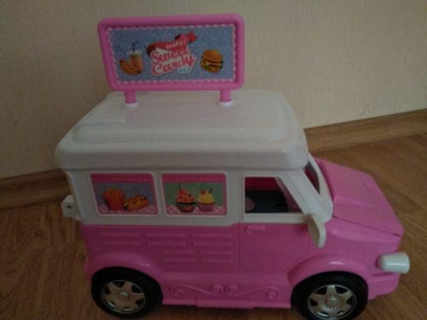 Фургон пикник, фургон барби.