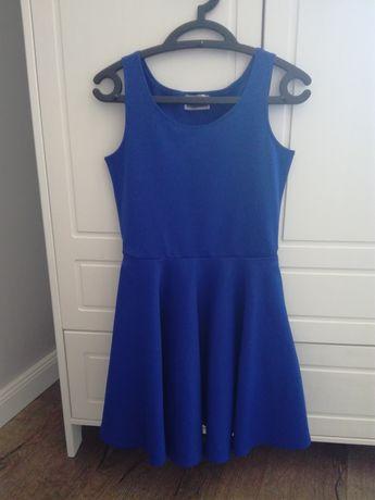 Niebieska Sukienka Zara 36/38