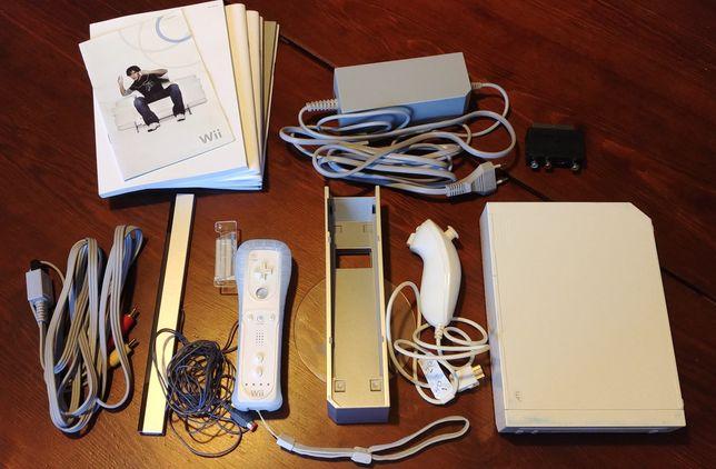 Nintendo Wii zestaw gry kierownica fit