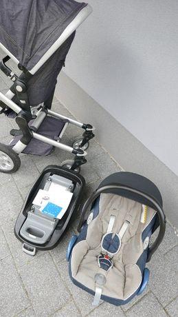 Zestaw wózek Joolz z fotelikiem maxi cosi peeble oraz bazą Famili Fix