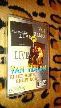 Van Halen - Right Here, Right Now - Live - Kaseta MC