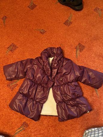 Осень-весна куртка на девочку(86)12-18м