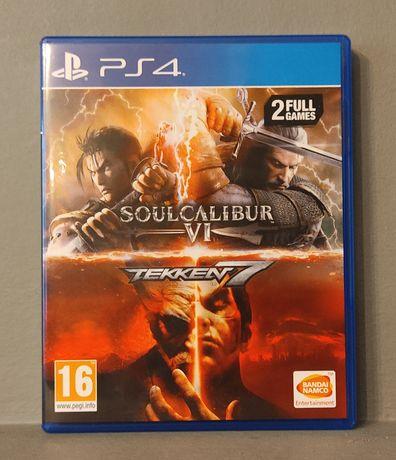 PlayStation 4! Soul Calibur VI & Tekken 7! 2 FULL GAMES! PS4 - Polecam