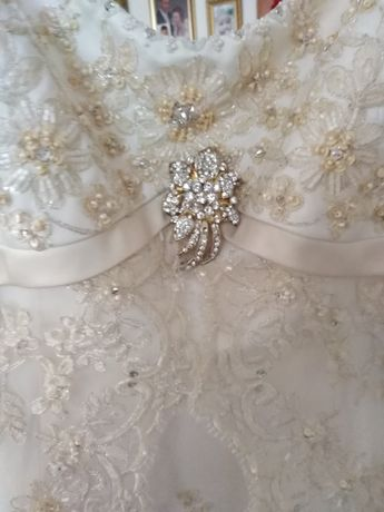 Unikat cudna suknia ślubna r. 40 42 44