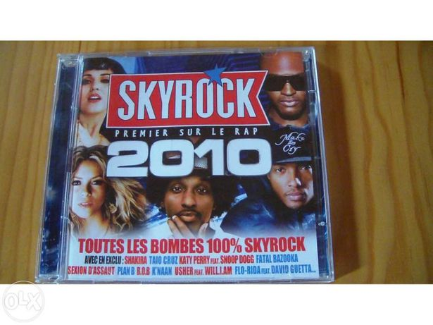 Skyrock 2010 2 cds