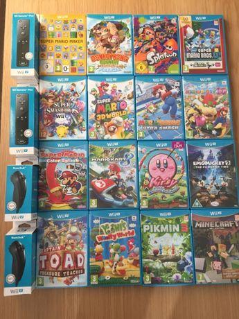 mVendo 33 jogos para a Nintendo Wii U + 8 Jogos Wii + Acessórios