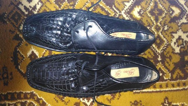 туфлі літні чоловічі шкіряні літні
