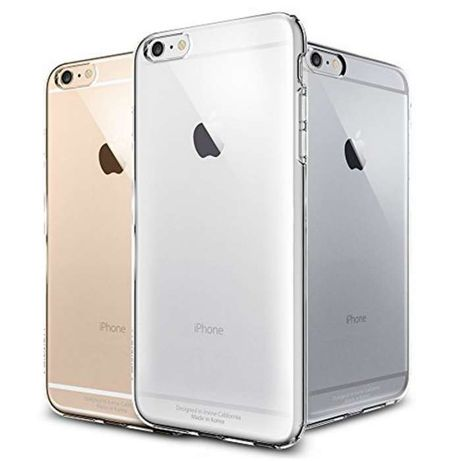 "R226 Capa Cristal Transparente Apple iPhone 6 4.7"""" Novo! ^A"