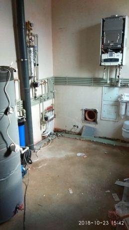 Установка и ремонт газ и электро котлов.