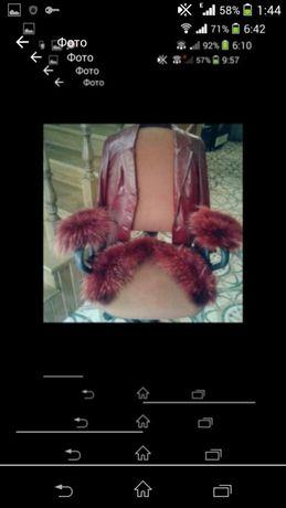 Кожаний піджак