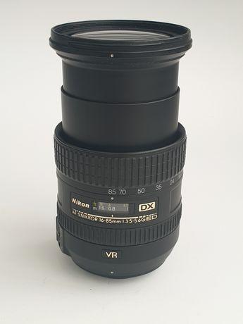 Объектив NIKON VR AF-S NIKKOR 16-85mm 1:3.5-5.6G ED