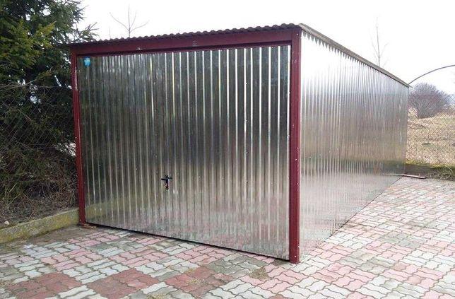 Garaż blaszany 3x5 Brama Podnoszona