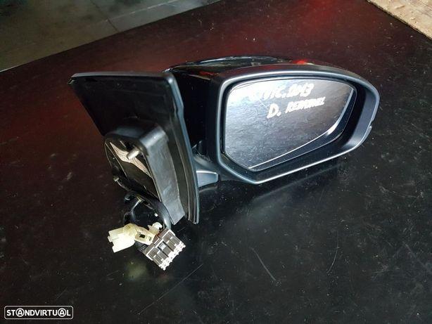Espelho Rebativel Honda Civic 2013