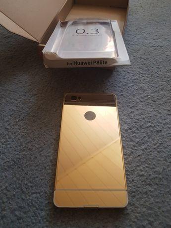 Osłona na huwawei P8lite złota