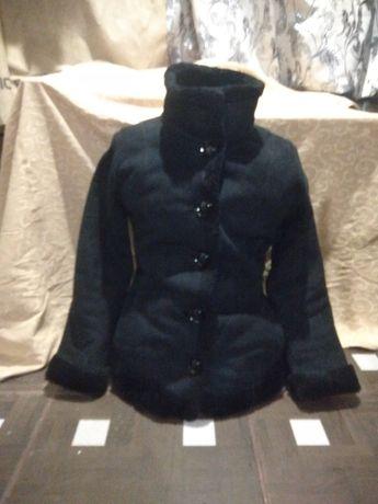 Пальто, дублянка розмір 42