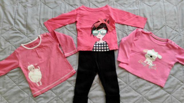 Ubranka dla dziewczynki rozmiar 68 (3-6 m-cy)