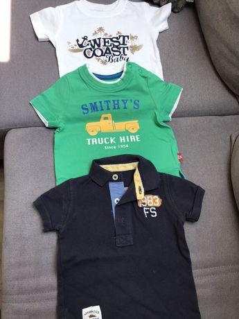Niemowlę chłopczyk Koszulki 3-6 miesięcy