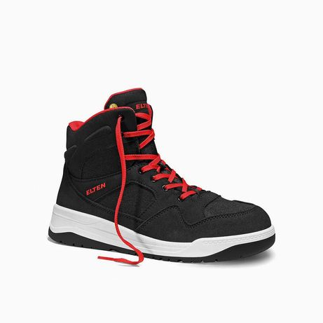 Elten Maverick Black Red Mid S3 R EU:43