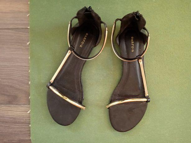 Sandały marki PARFOIS, czarne, nr 39