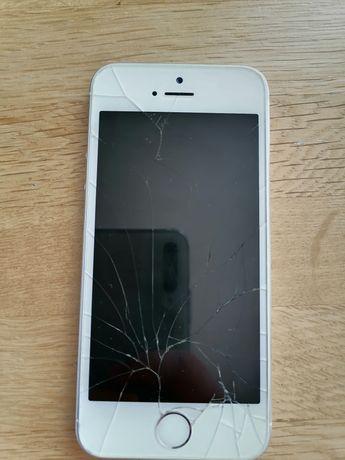 IPhone 5s zbity ekran
