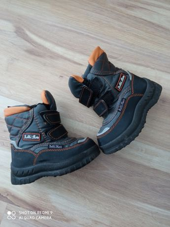 Buty śniegowce chłopięce 23
