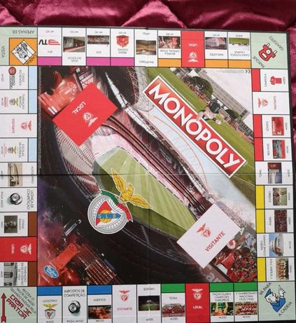 Monopoly original Benfica a excelente preço!