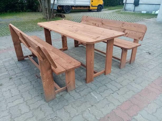 zestaw mebli ogrodowych meble ogrodowe stolik ławka ostatnie 2kpl