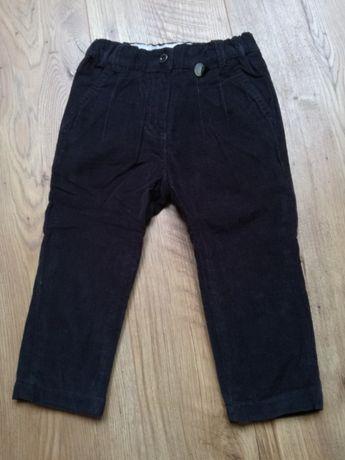 Spodnie na podszewce r.86 Coccodrillo