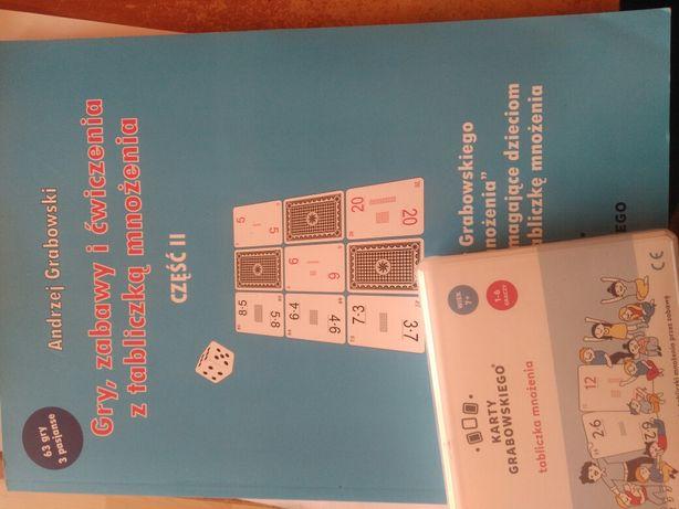 Karty Grabowskiego +dwie ksiazki