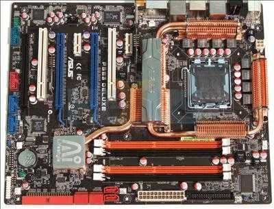 vendo p5e3 de luxe mais memórias e processador qudro core