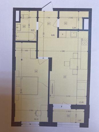 1 кімнатна квартира 54 м В.Великого
