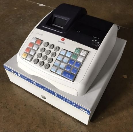 Caixa Registadora Olivetti ECR 7700