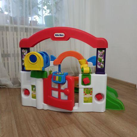 развивающий игровой центр домик little tikes